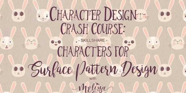Skillshare – Character Design Crash Course: Characters for Surface Pattern Design
