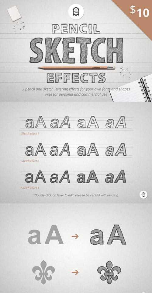 Pencil Sketch Effects 2
