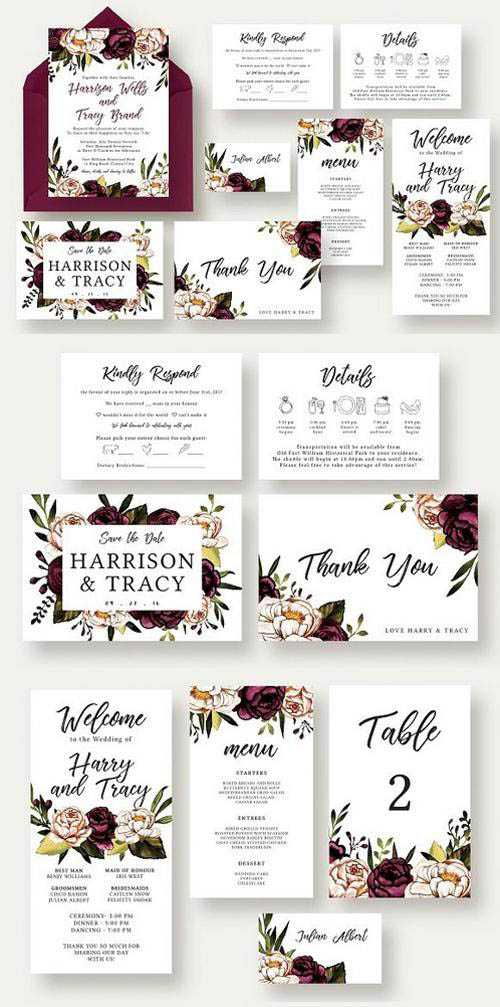Bold & Stylish Floral Wedding Suite