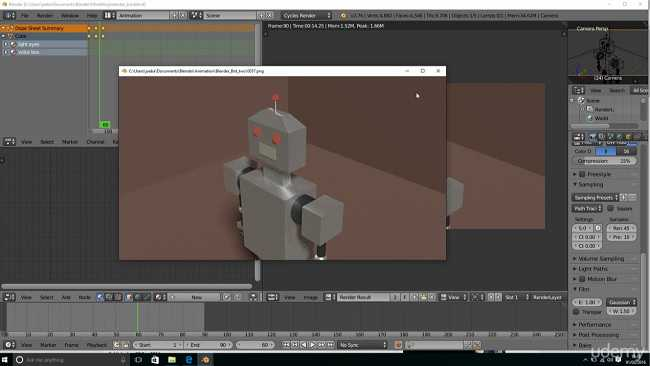 Udemy - Learn Blender 3D - Become a 3D artist and create 50 models