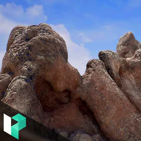Levelup.Digital – Modeling, Texturing, and Shading Volcanic Rocks for Unreal – Casper Wermuth