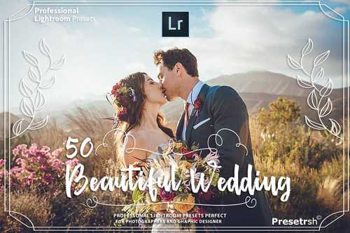 50 Pro Wedding Presets Collection – 2395838