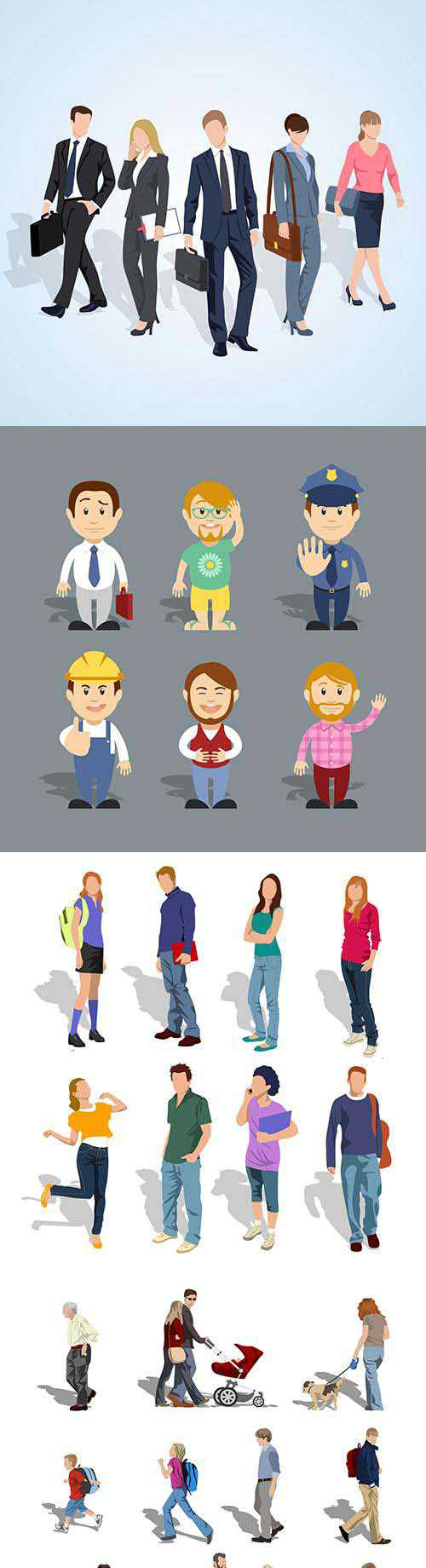 People Vector colection 1