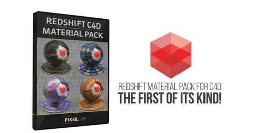 The Pixel Lab - Redshift C4D Material Pack