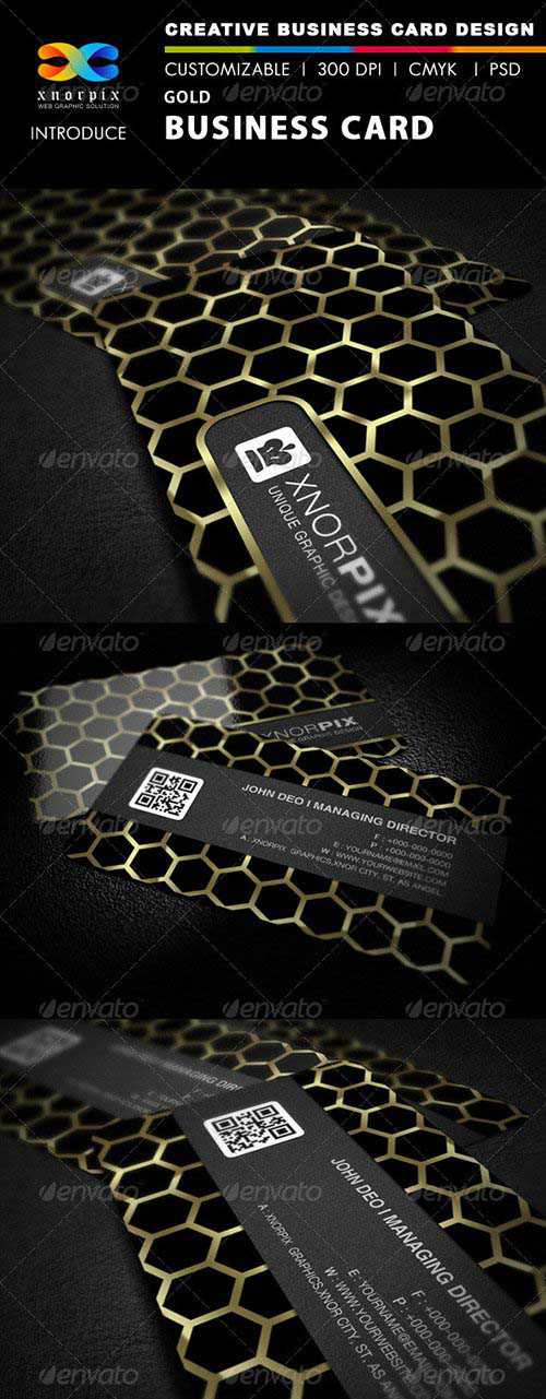 GraphicRiver - Gold Business Card 2780811