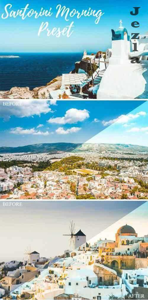 Lightroom Presets - Santorini Morning - Mobile & Desktop
