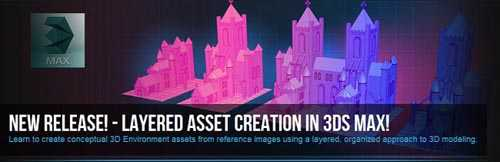 Layered Asset Creation in 3ds Max