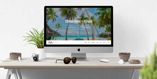 Clifton Hotel – One-Page Parallax HTML5 Travel Booking Template