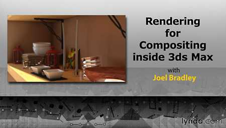 Tutorials Lynda Rendering for Composites inside 3ds Max