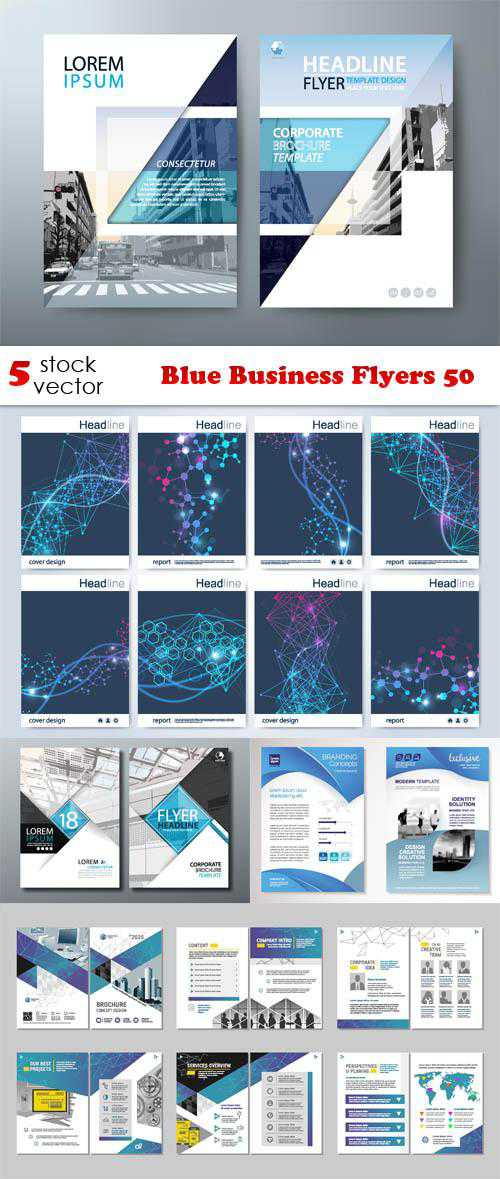 Blue Business Flyers 50