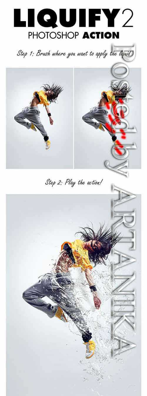 GraphicRiver – Liquify 2 Photoshop Action 10307102