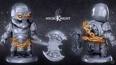 Sculpting the Necroknight with ZBrush