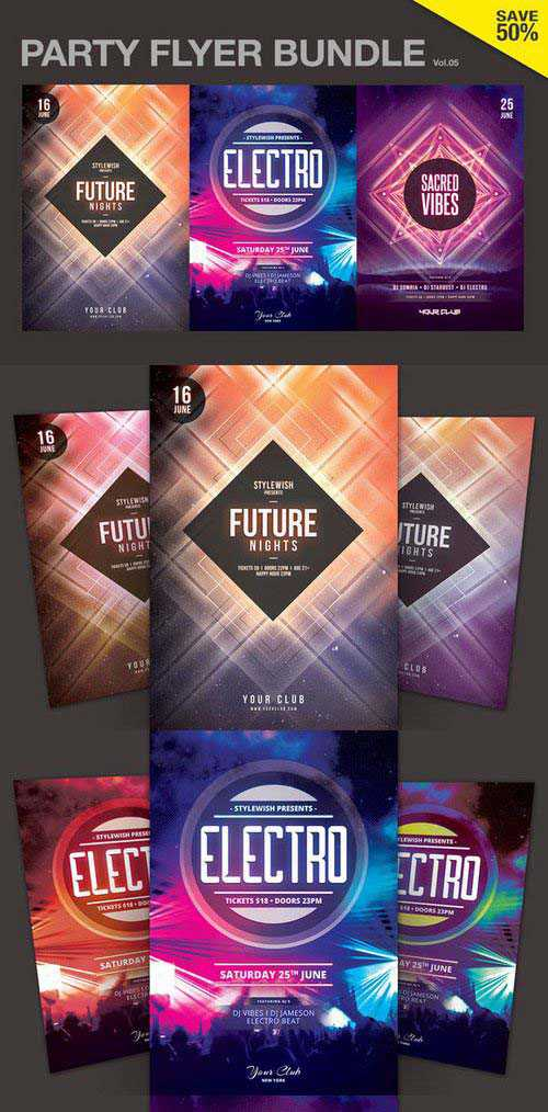 CM – Party Flyer Bundle Vol.05 696563