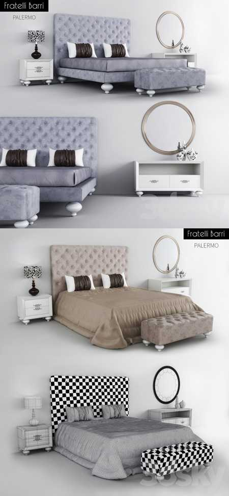Beds tables stool Fratelli Barri Palermo