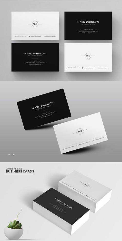 CM – Clean Business Card 1651510