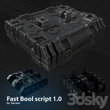 Fast Bool Script 1.0 for Max 2017-2020