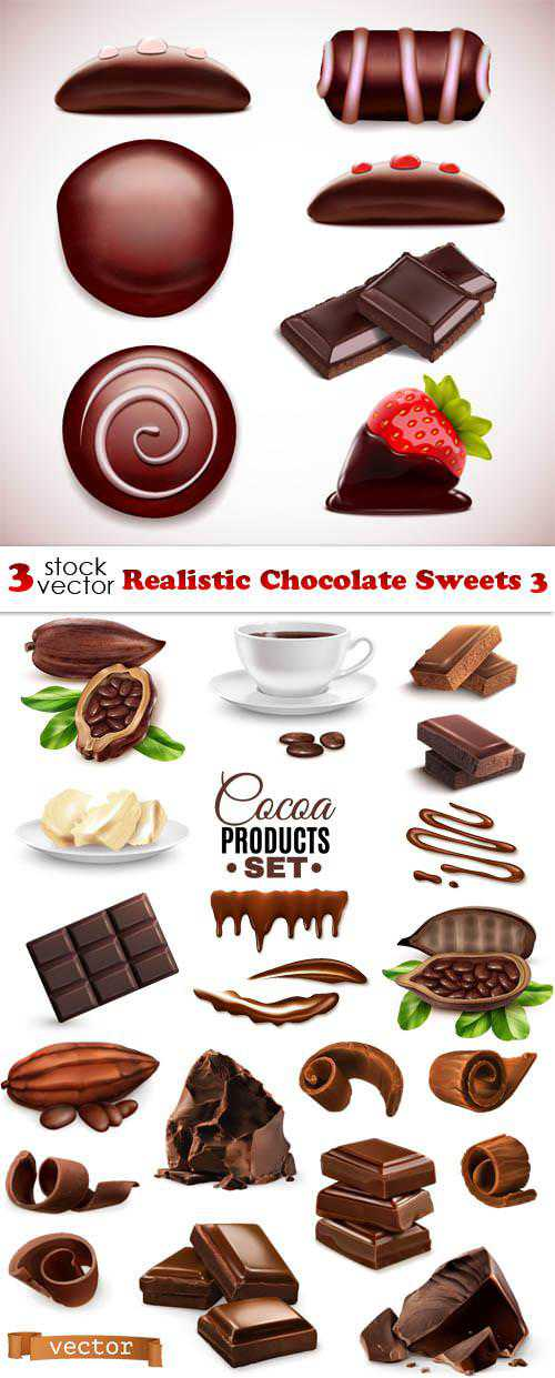 Realistic Chocolate Sweets 3
