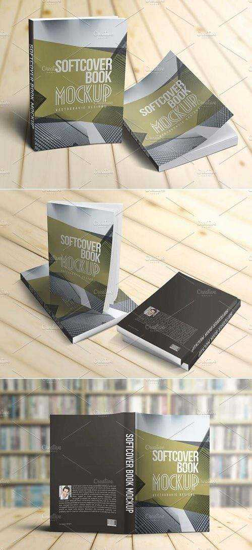 Softcover Book Mockups 1590574
