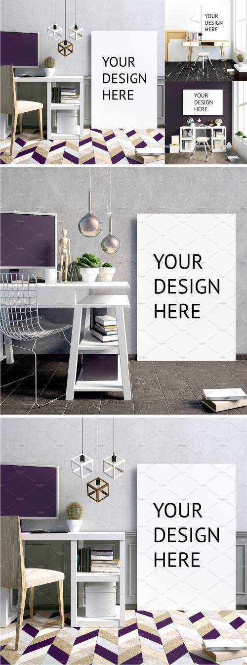 CM – 10 workplace poster mock up – 1798951