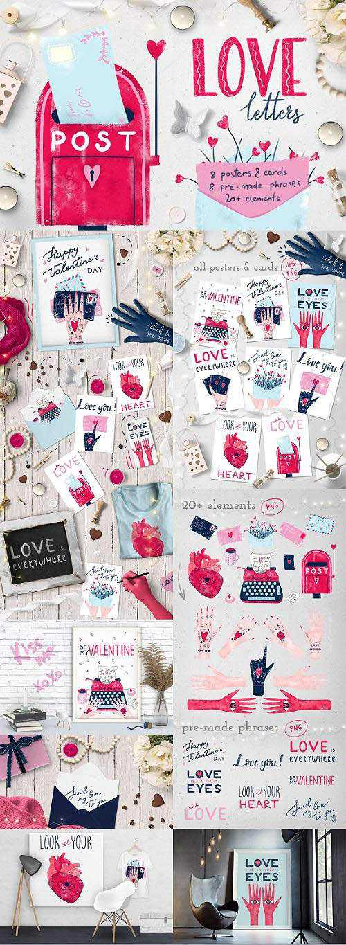 love letters :: posters & cards – 2193902