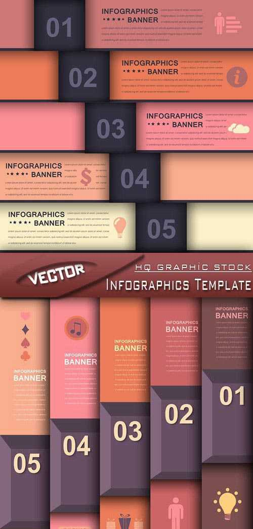Stock Vector – Infographics Template