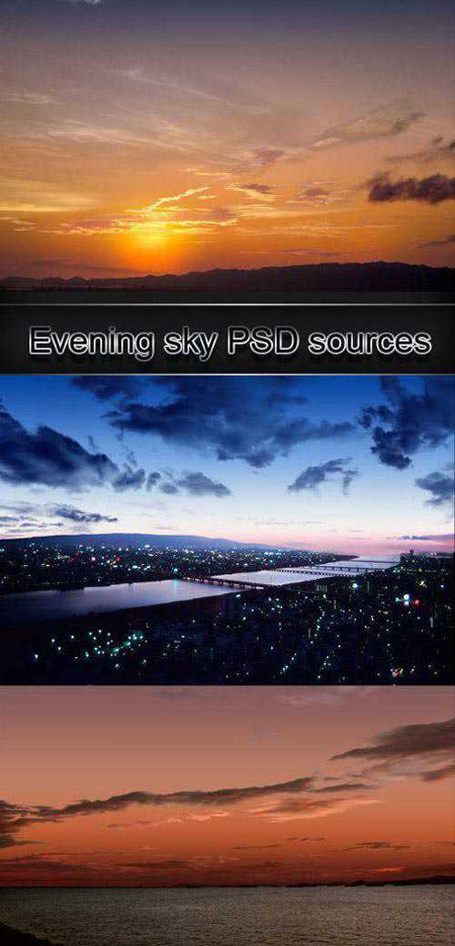 Evening sky PSD sources