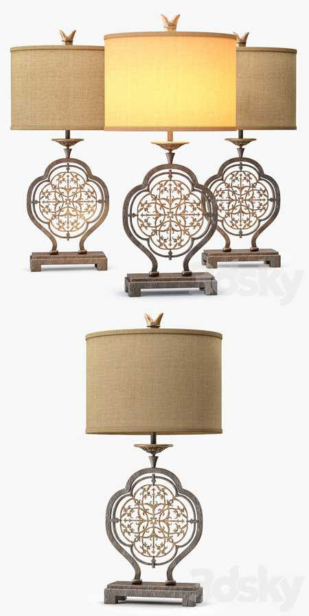 Murray Feiss Marcella 1Lt Table Lamp