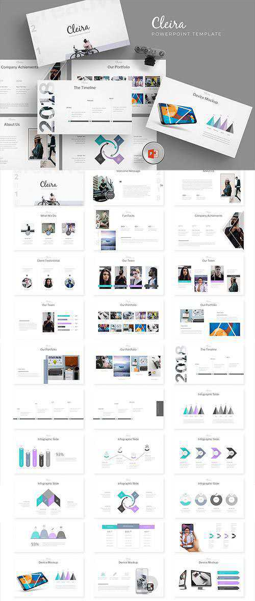 Cleira - Powerpoint, Keynote and Google Sliders Templates