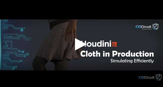 CG Circuit – Houdini Cloth in Production