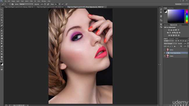 Udemy – Master Advanced High End Beauty Retouching in Photoshop