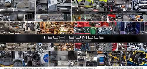 Gumroad - TECH Bundle + MILITARY Bundle by Ben Mauro