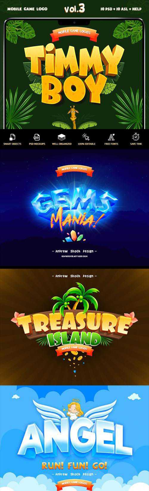 Game Titles Text Effects Vol.3 – 23831817