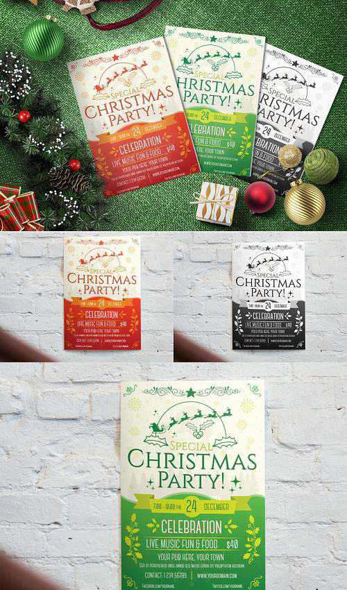 Christmas Party – Flyer Template – BXKD77